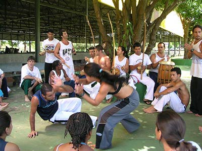 capoeira-training