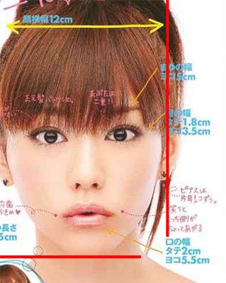 kiritani_mirei_face_line